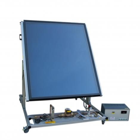 FLAT PLATE SOLAR ENERGY COLLECTOR